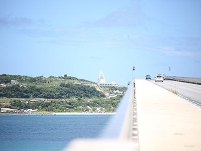 古宇利島 - 古宇利大橋、古宇利海灘附近