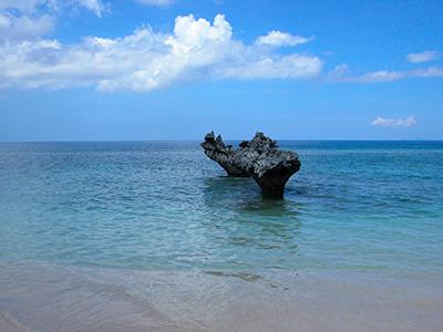 心形岩-Tinu海灘