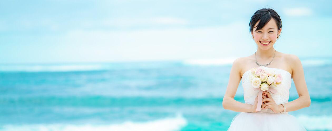 襯托婚紗的美麗景色♪-ドレスが映える美しい景色